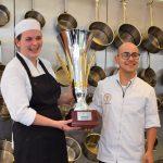 Janneke Lugtenburg en Sabri Bahada,winnaars van de Kesbeke(r) trofee 2016