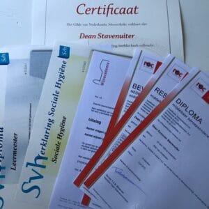5 diploma's in 2 jaar
