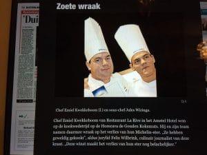 Emiel Kwekkeboom en Jules Wiringa (vlnr)